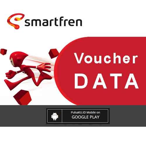 Voucher Internet Voucher Smartfren - Data UNLIMITED FUP 1GB/hari